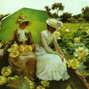 Lotus Lilies, by Charles Courtney Curran, 1888