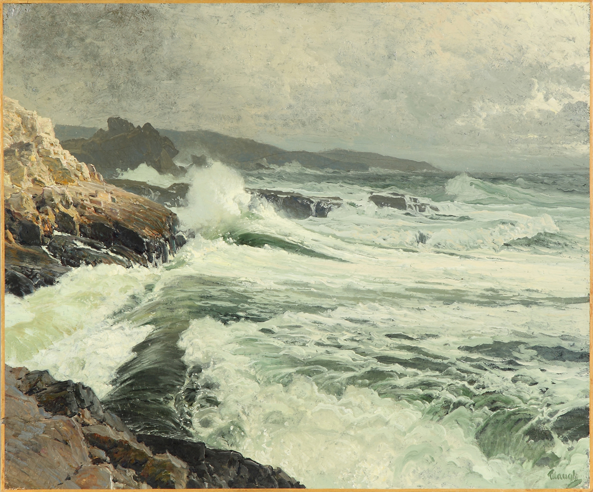 Great Manan Coast, by Frederick Judd Waugh