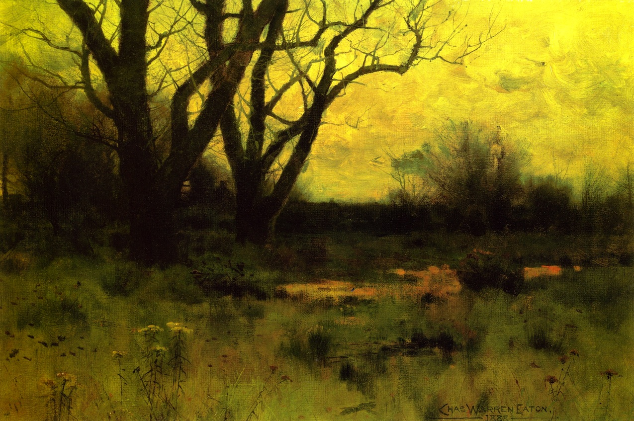 Autumn Meadow, by Charles Warren Eaton, 1888