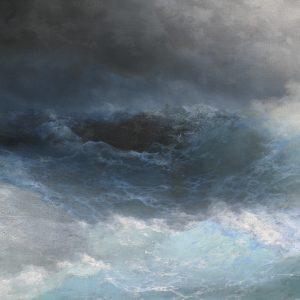 Stormy Sea, by Ivan Konstantinovich Aivazovsky