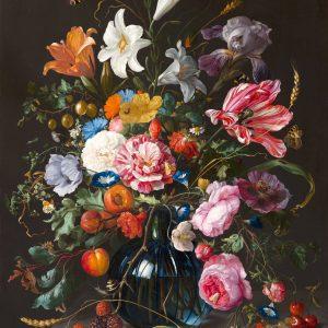 Vase of Flowers, by Jan Davidsz de Heem, circa 1670