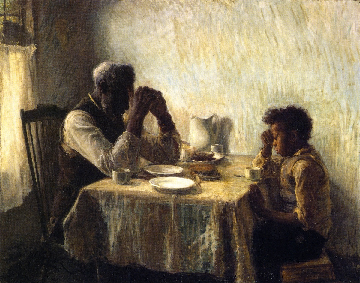 The Thankful Poor, by Henry Ossawa Tanner, 1894