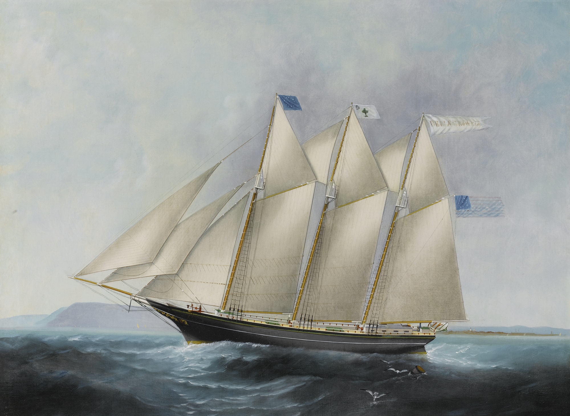 The Bella Crowell, by Elisha Taylor Baker, circa 1870