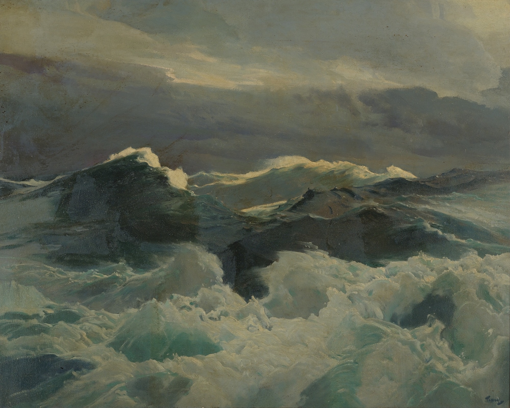 Seascape, by Frederick Judd Waugh