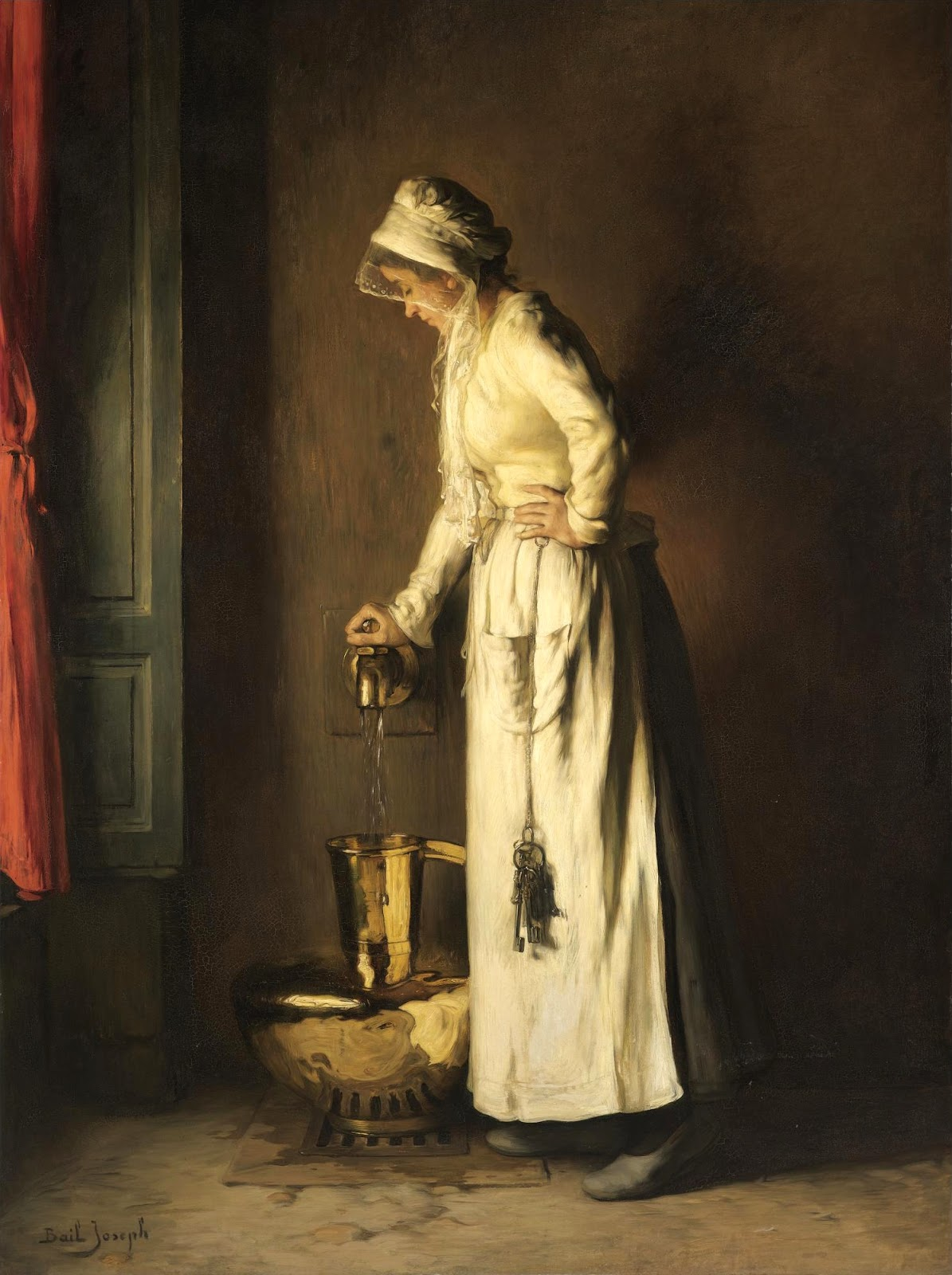 The Servant, by Joseph-Claude Bail