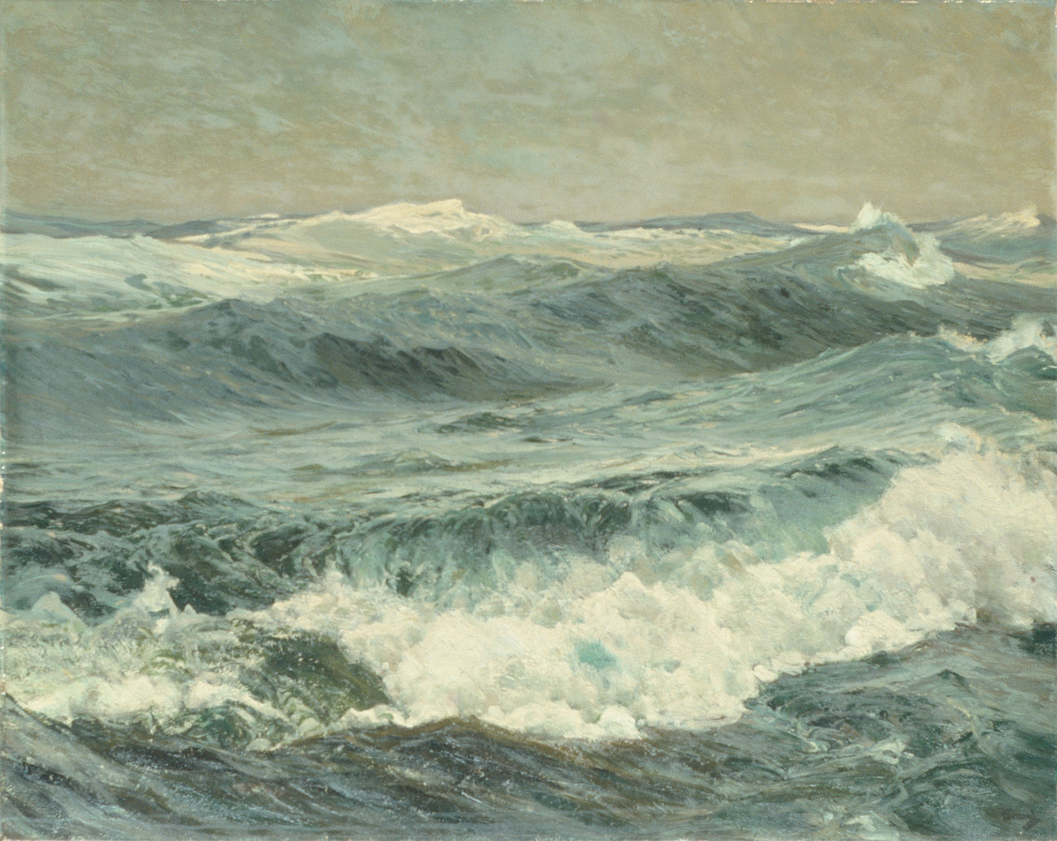 The Roaring Forties, a Seascape by Frederick Judd Waugh
