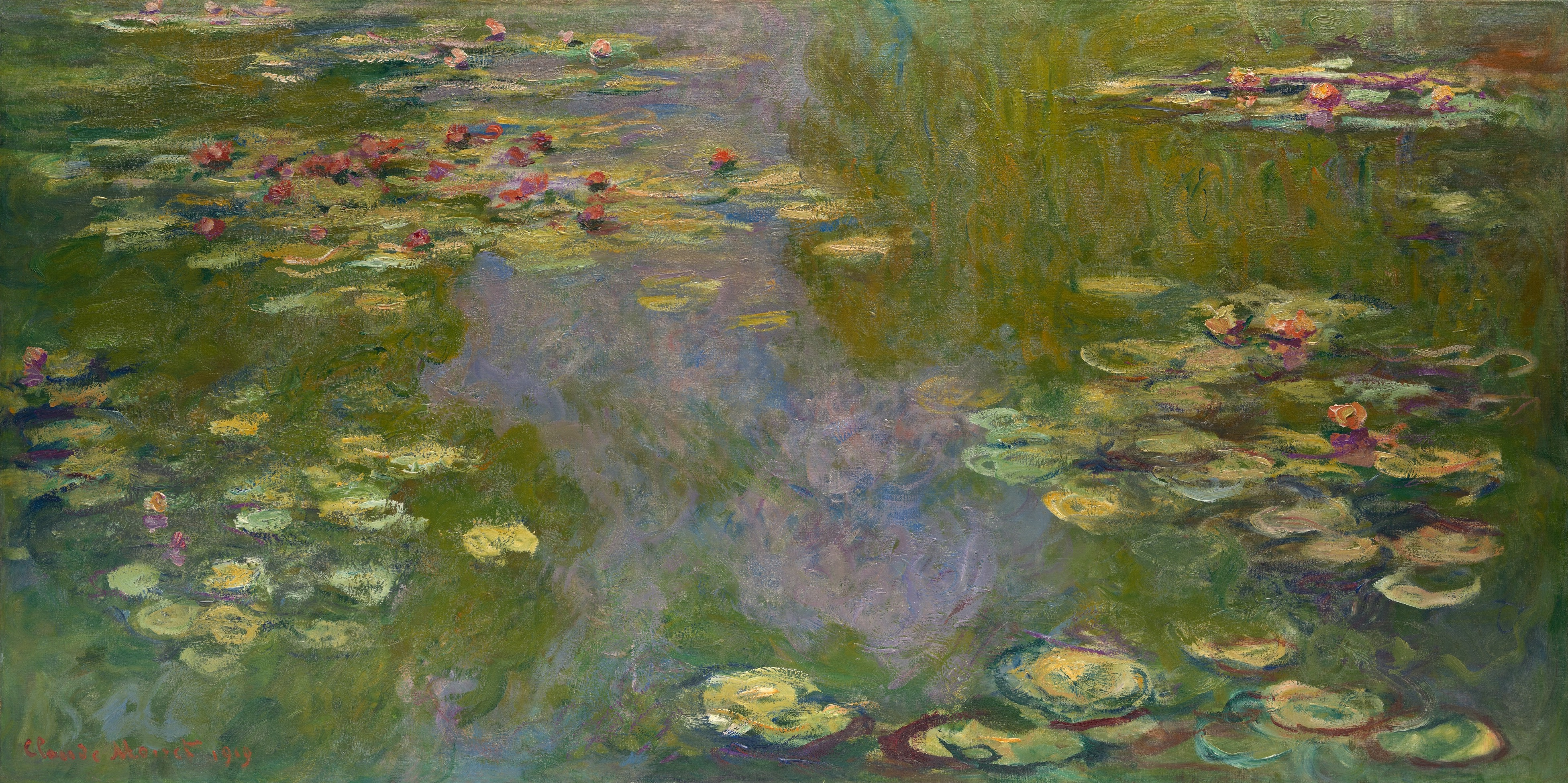 Water Lilies by Claude Monet, 1919, by The Met