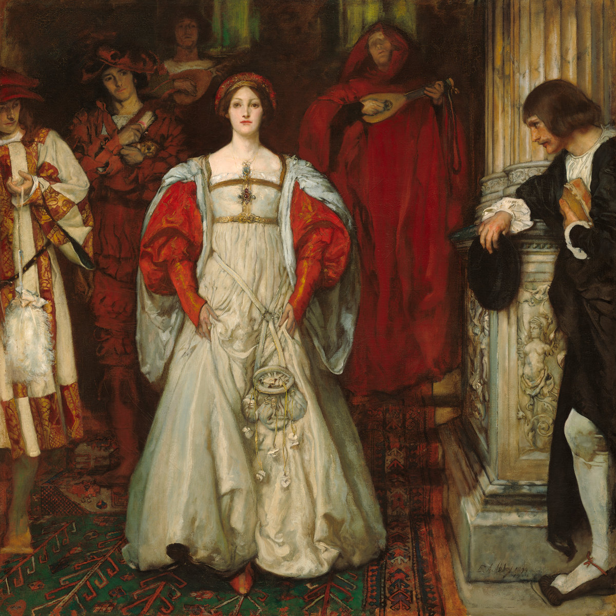 Who is Sylvia? by Edwin Austin Abbey, 1896 - 1900