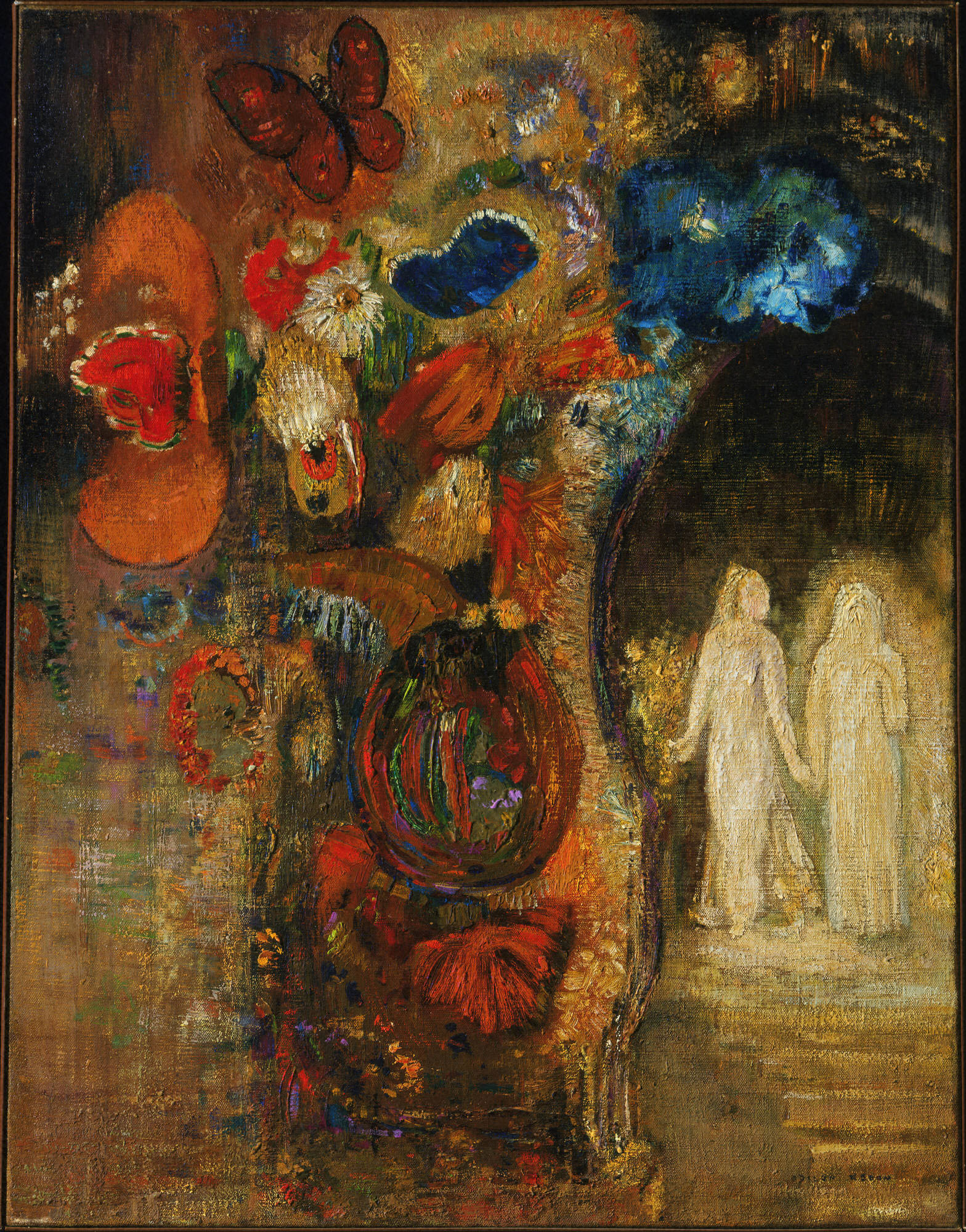 Apparition, by Odilon Redon, circa 1905 - 1910