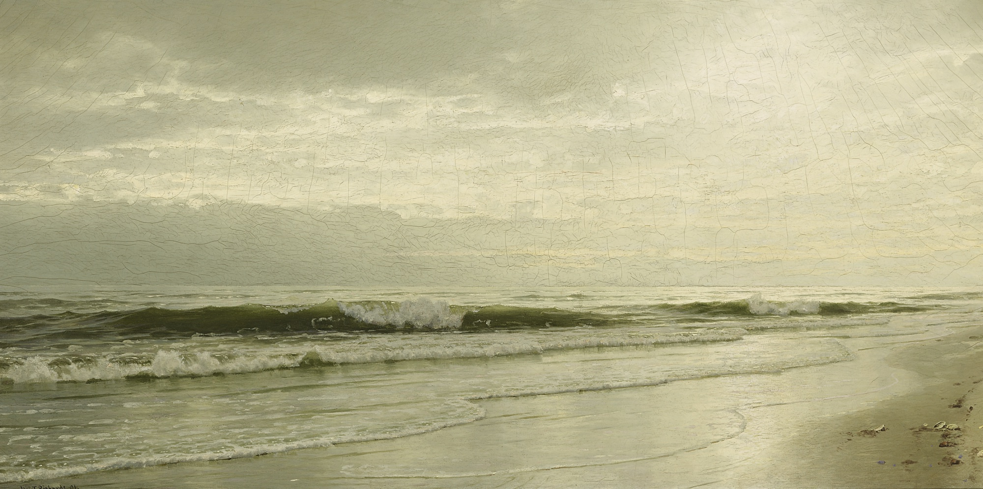Ebbing Tide, by William Trost Richards, 1891