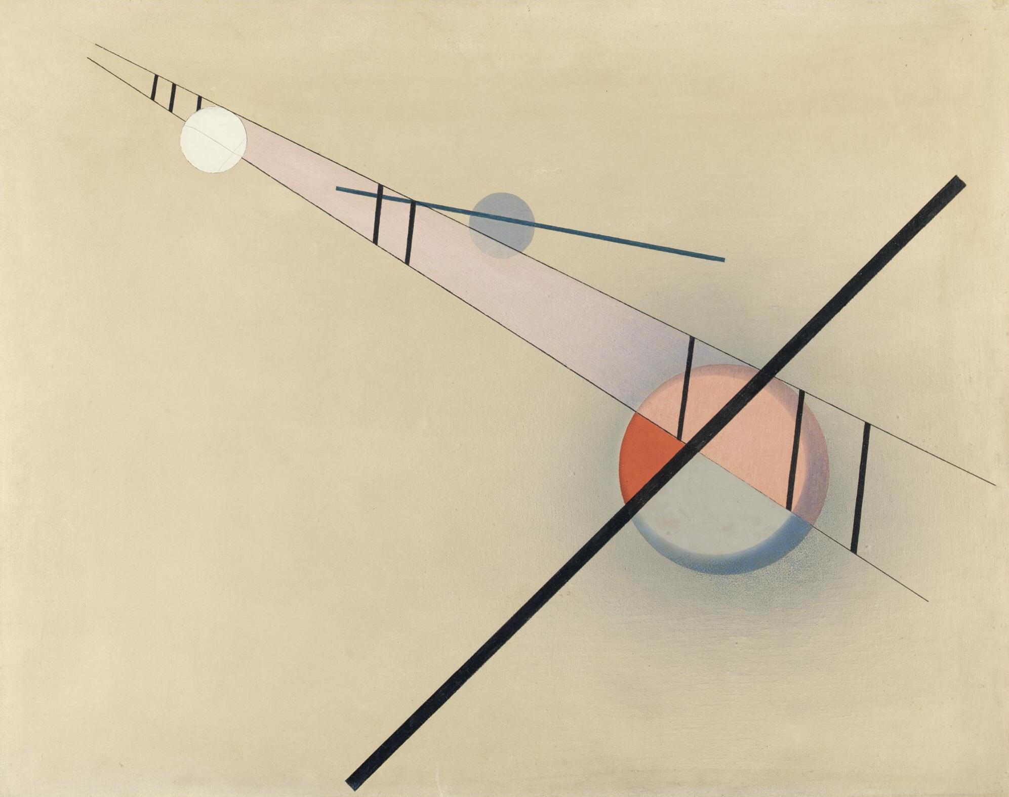 Z IV, by László Moholy-Nagy, 1923