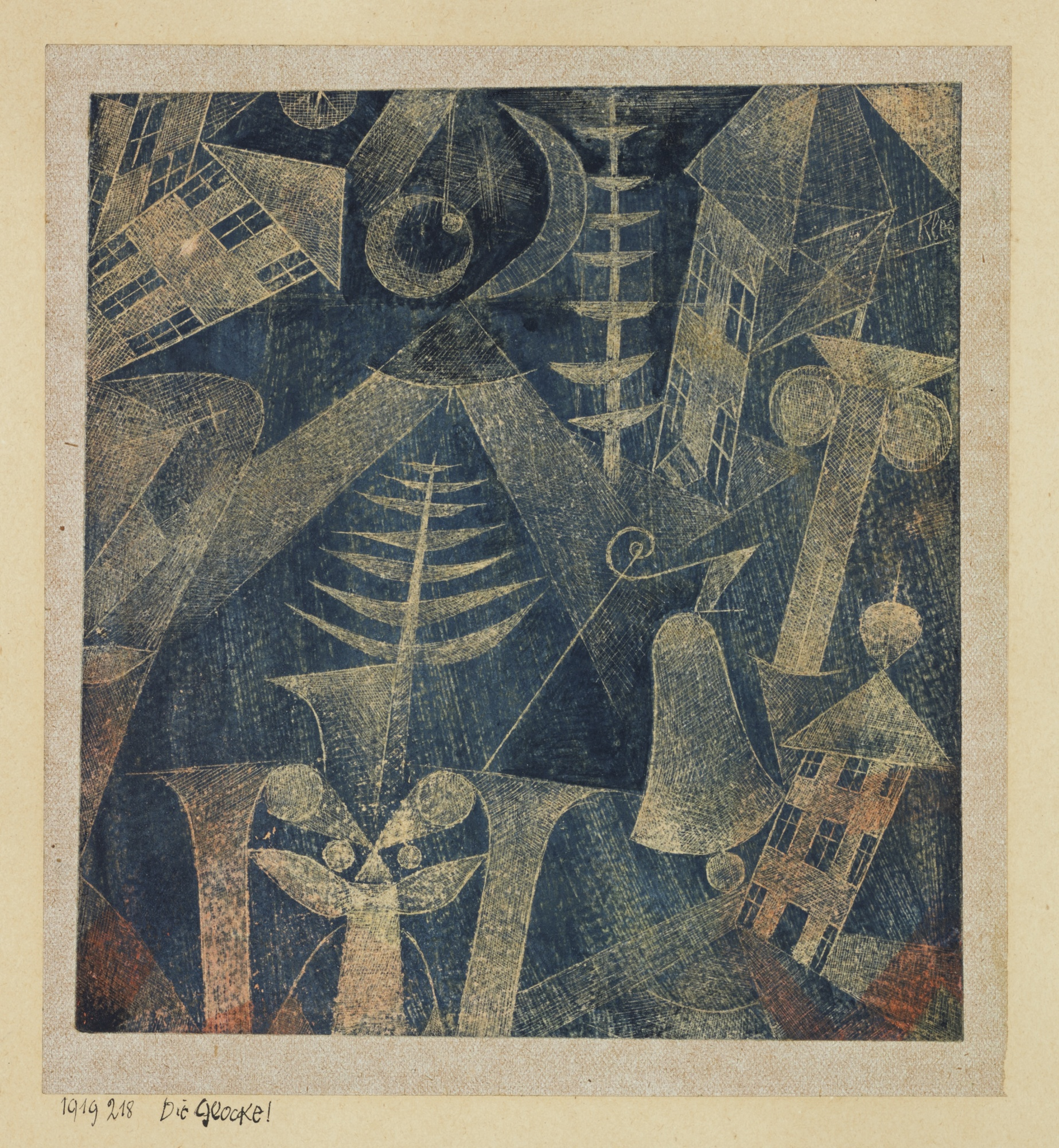 The Bell, by Paul Klee