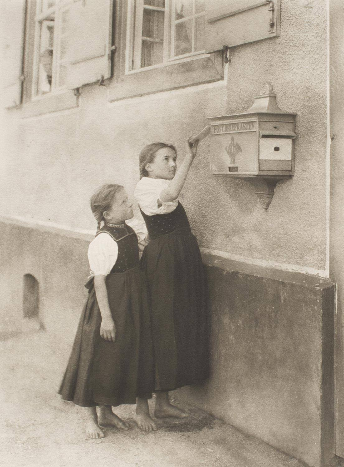 The Letter Box, by Alfred Stieglitz, 1894