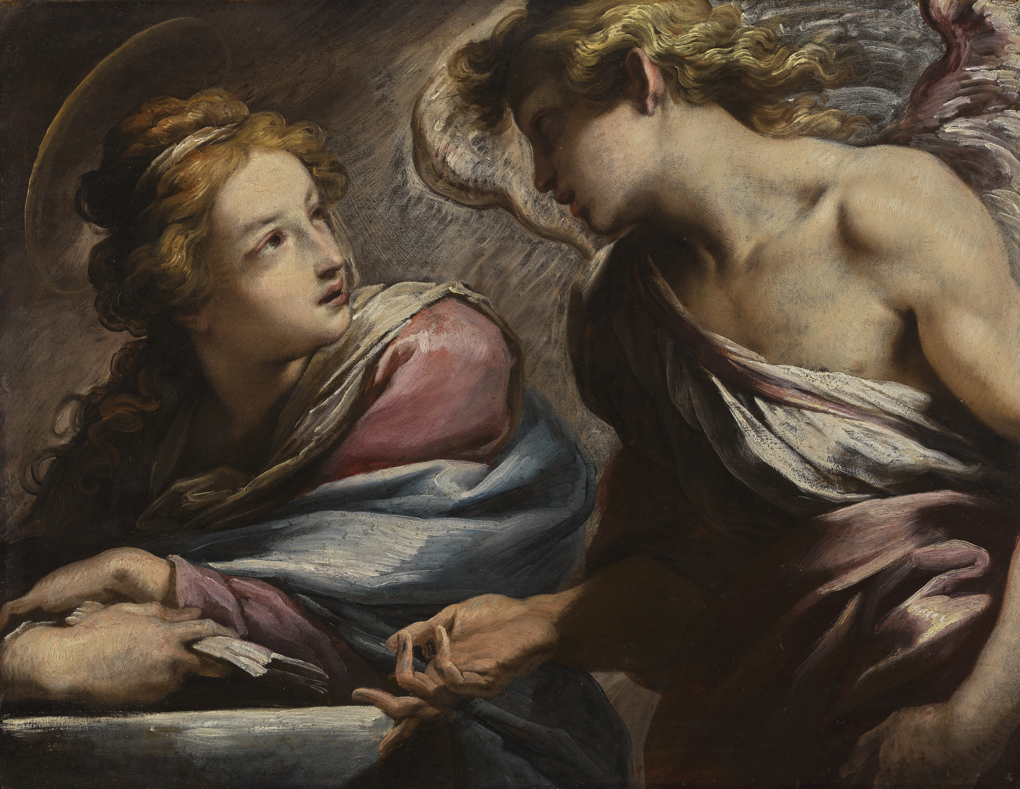 The Annunciation, by Daniele Crespi